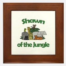Shawn of the Jungle  Framed Tile