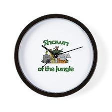 Shawn of the Jungle  Wall Clock