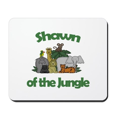 Shawn of the Jungle Mousepad
