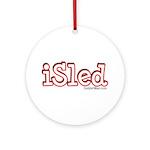 iSled Ornament (Round)