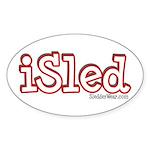 iSled Oval Sticker