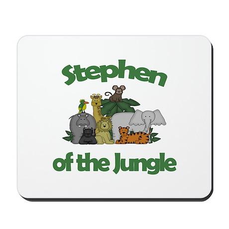 Stephen of the Jungle Mousepad