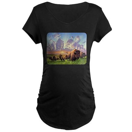 Stampede! Maternity Dark T-Shirt