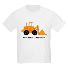 Bucket Loader Kids T-Shirt