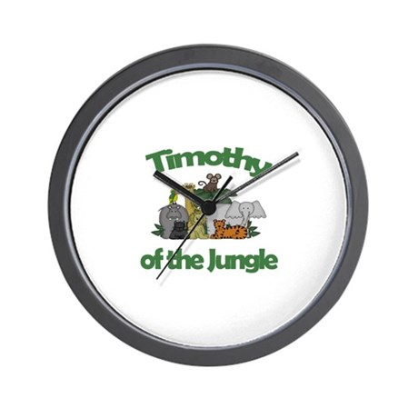 Timothy of the Jungle Wall Clock
