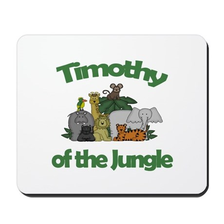 Timothy of the Jungle Mousepad