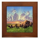 Buffalo Framed Tiles