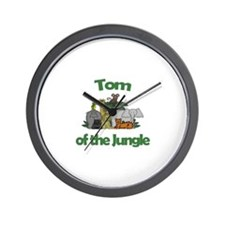 Tom of the Jungle  Wall Clock