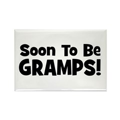 Soon To Be Gramps! Rectangle Magnet