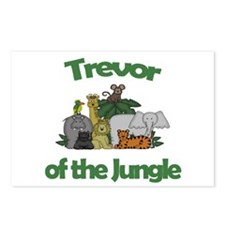 Trevor of the Jungle  Postcards (Package of 8)