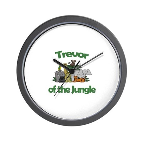 Trevor of the Jungle Wall Clock