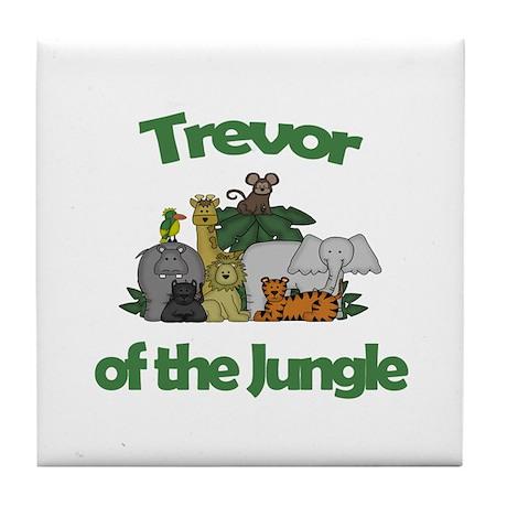Trevor of the Jungle Tile Coaster
