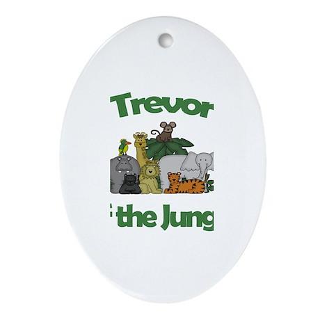 Trevor of the Jungle Oval Ornament