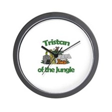 Tristan of the Jungle  Wall Clock