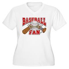 Baseball Fan(Red) T-Shirt