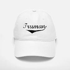 Truman Vintage (Black) Baseball Baseball Cap