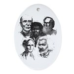 First induction Class Oval Ornament