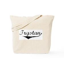 Trystan Vintage (Black) Tote Bag