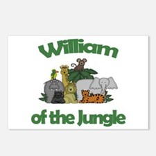 William of the Jungle  Postcards (Package of 8)