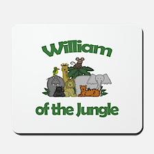 William of the Jungle Mousepad