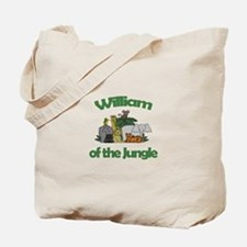 William of the Jungle Tote Bag