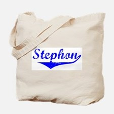 Stephon Vintage (Blue) Tote Bag