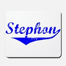 Stephon Vintage (Blue) Mousepad