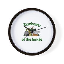 Zachary of the Jungle  Wall Clock