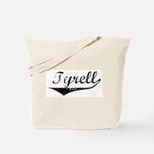Tyrell Vintage (Black) Tote Bag