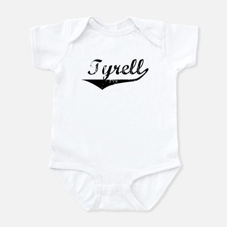 Tyrell Vintage (Black) Infant Bodysuit