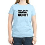 Soon To Be Great Aunt!  Women's Light T-Shirt