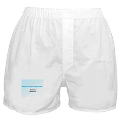 PreciousStuffDotBiz Seasons Greetings Boxer Shorts