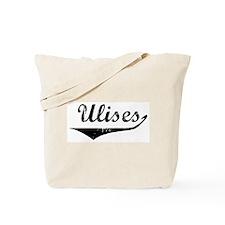 Ulises Vintage (Black) Tote Bag