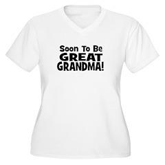 Soon To Be Great Grandma! T-Shirt
