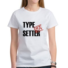 Off Duty Type Setter Tee