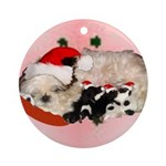Linda Ornament (Round)