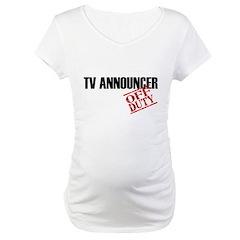 Off Duty TV Announcer Shirt