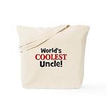 World's Coolest Uncle!  Tote Bag
