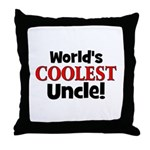 World's Coolest Uncle!  Throw Pillow