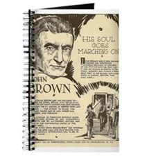 Cute John brown Journal
