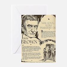 Brown Greeting Card
