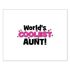 World's Coolest Aunt! Posters