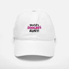 World's Coolest Aunt! Baseball Baseball Cap