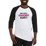 World's Coolest Aunt! Baseball Jersey