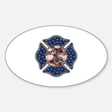 Firefighter USA Decal