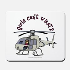 Light Helicopter Pilot Mousepad