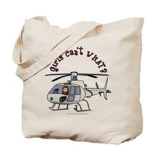Light Helicopter Pilot Tote Bag