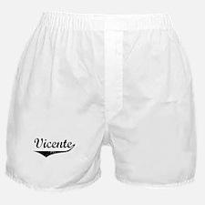 Vicente Vintage (Black) Boxer Shorts