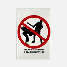 Police Beatings Rectangle Magnet (10 pack)
