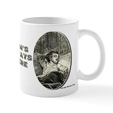 1800s Baby Engraving Mug